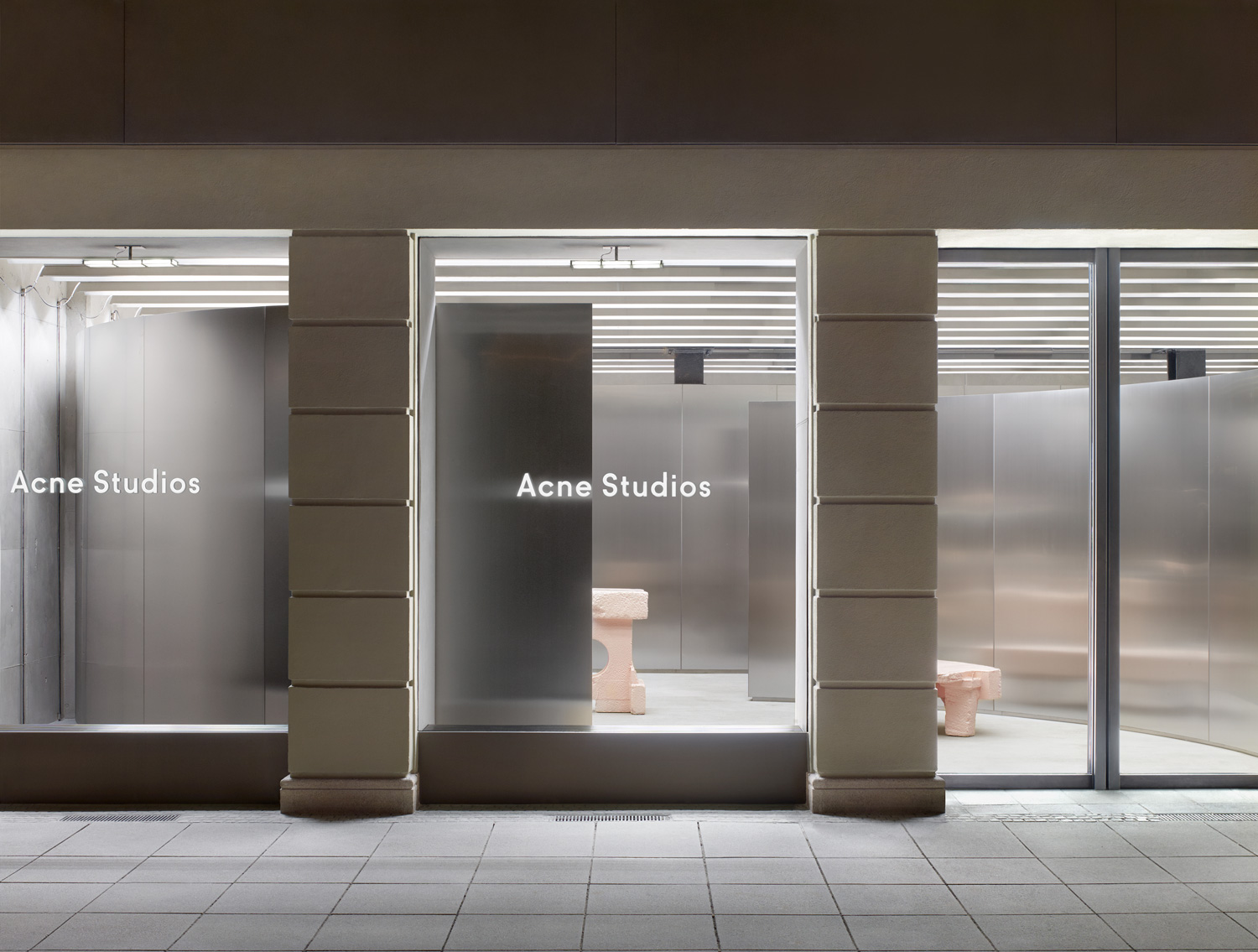 Acne Studios Munich Store Yellowtrace