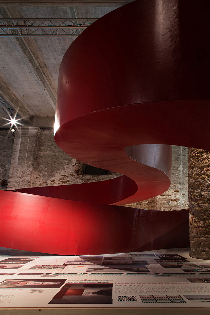 Aequilibrium Suspended Walkway by C+S architects, Venice Architecture Biennale 2016 | Yellowtrace