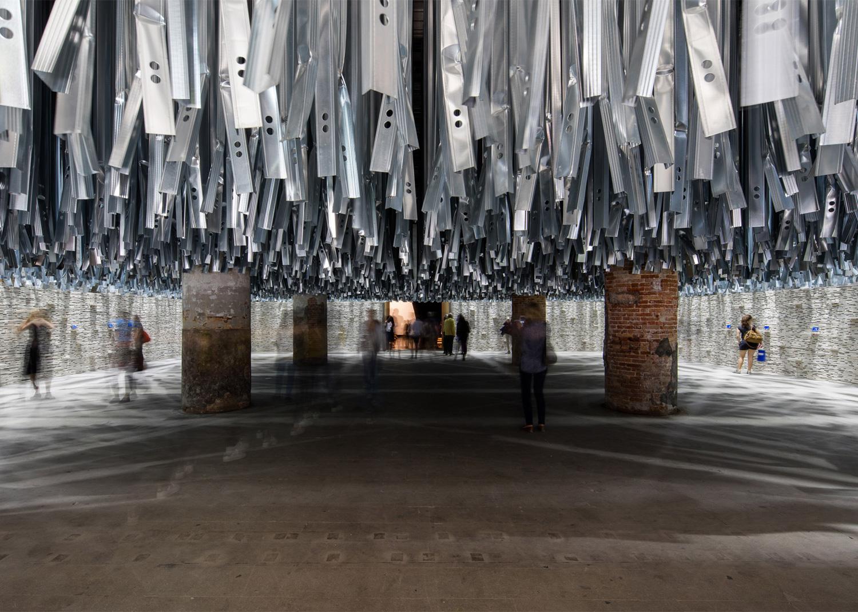 Arsenale Entrance by Alejandro Aravena, Venice Architecture Biennale 2016 | Yellowtrace