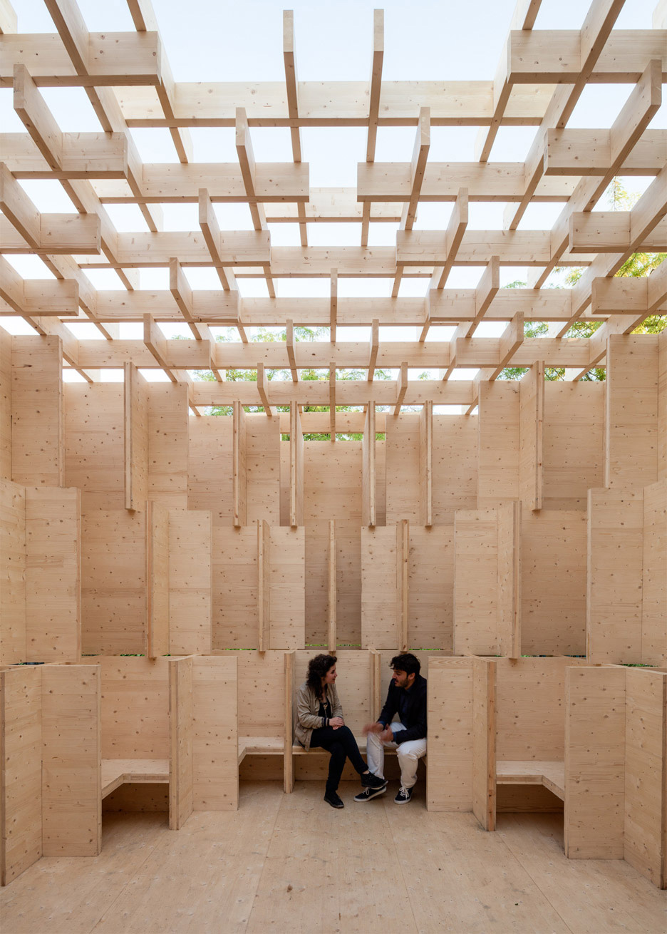 Forests of Venice Pavilion | Yellowtrace