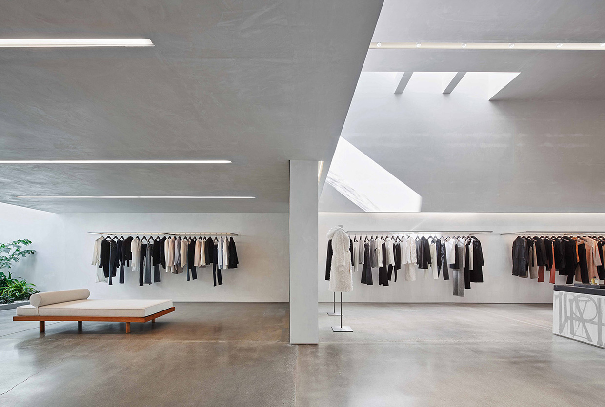 Helmut Lang Concept Store In La By Standard Architecture