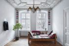 Heritage Apartment in Berlin by Marc Benjamin Drewes ARCHITEKTUREN & Schneideroelsen | Yellowtrace