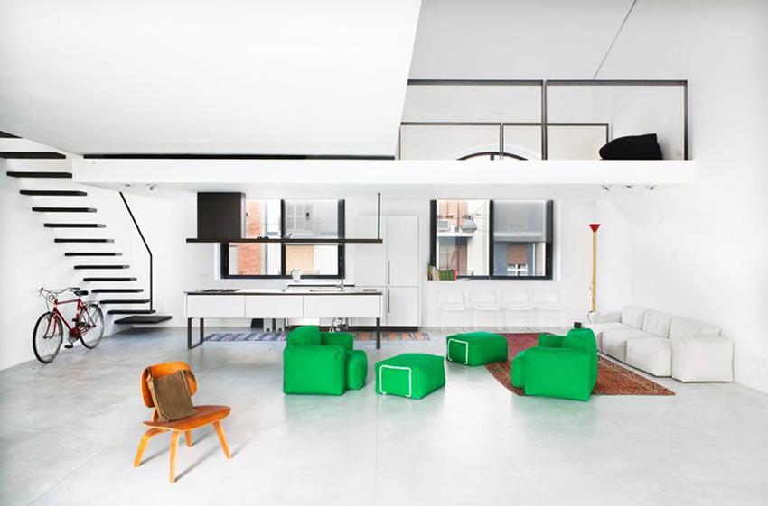 Loft n1 in Milan | Yellowtrace