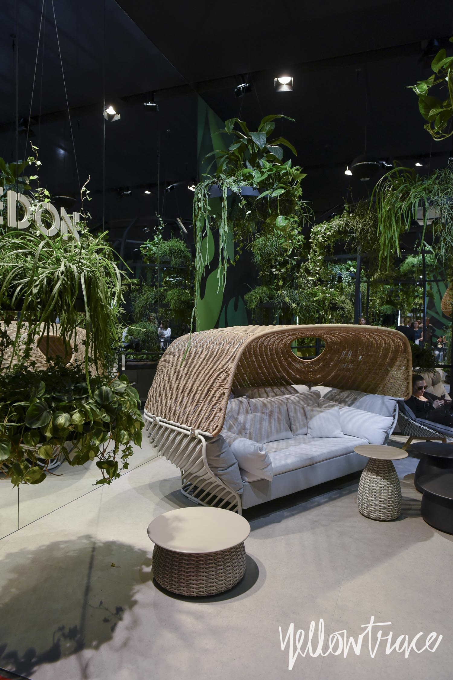Dedon at salone del mobile milano 2016 photo nick for Salone del mobile 2016 highlights