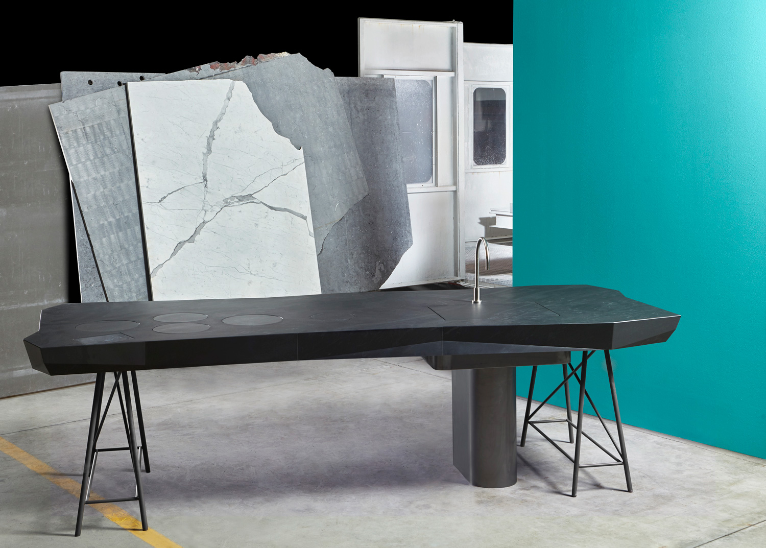 Appliances as Art and Other Kitchen Trends from Eurocucina 2016.