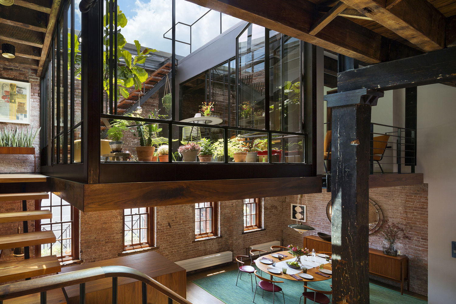 Tribeca Loft by Andrew Franz Architect | Yellowtrace