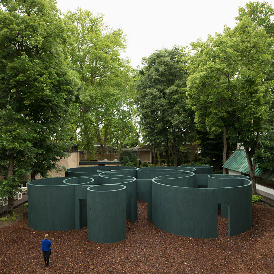 Vara Labyrinth Pavilion by Pezo von Ellrichshausen, Venice Architecture Biennale 2016 | Yellowtrace