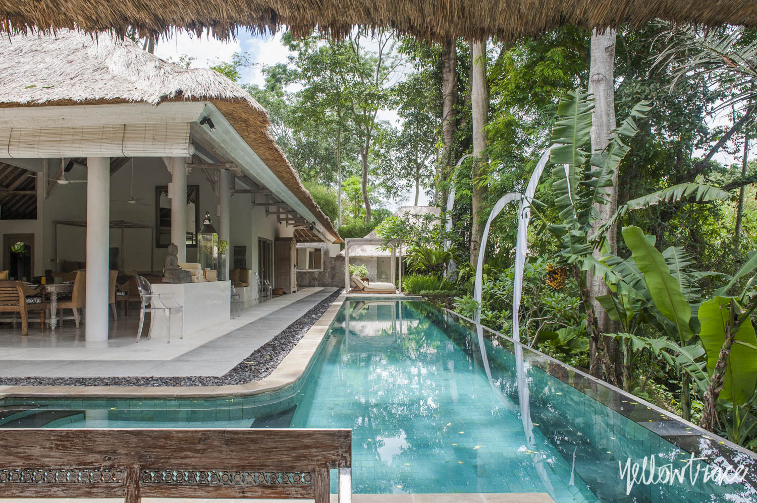 Villa Sungai Gold swimming pool, Photo © Nick Hughes | Yellowtrace