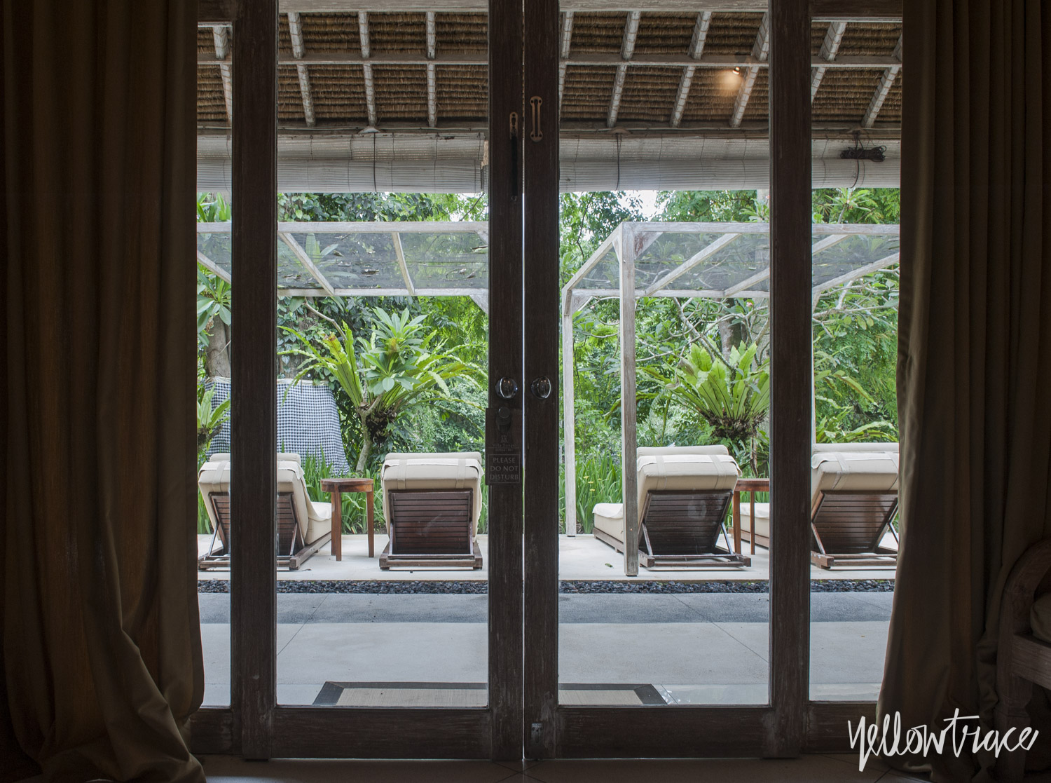 Villa Sungai Gold Rooms, Photo © Nick Hughes | Yellowtrace