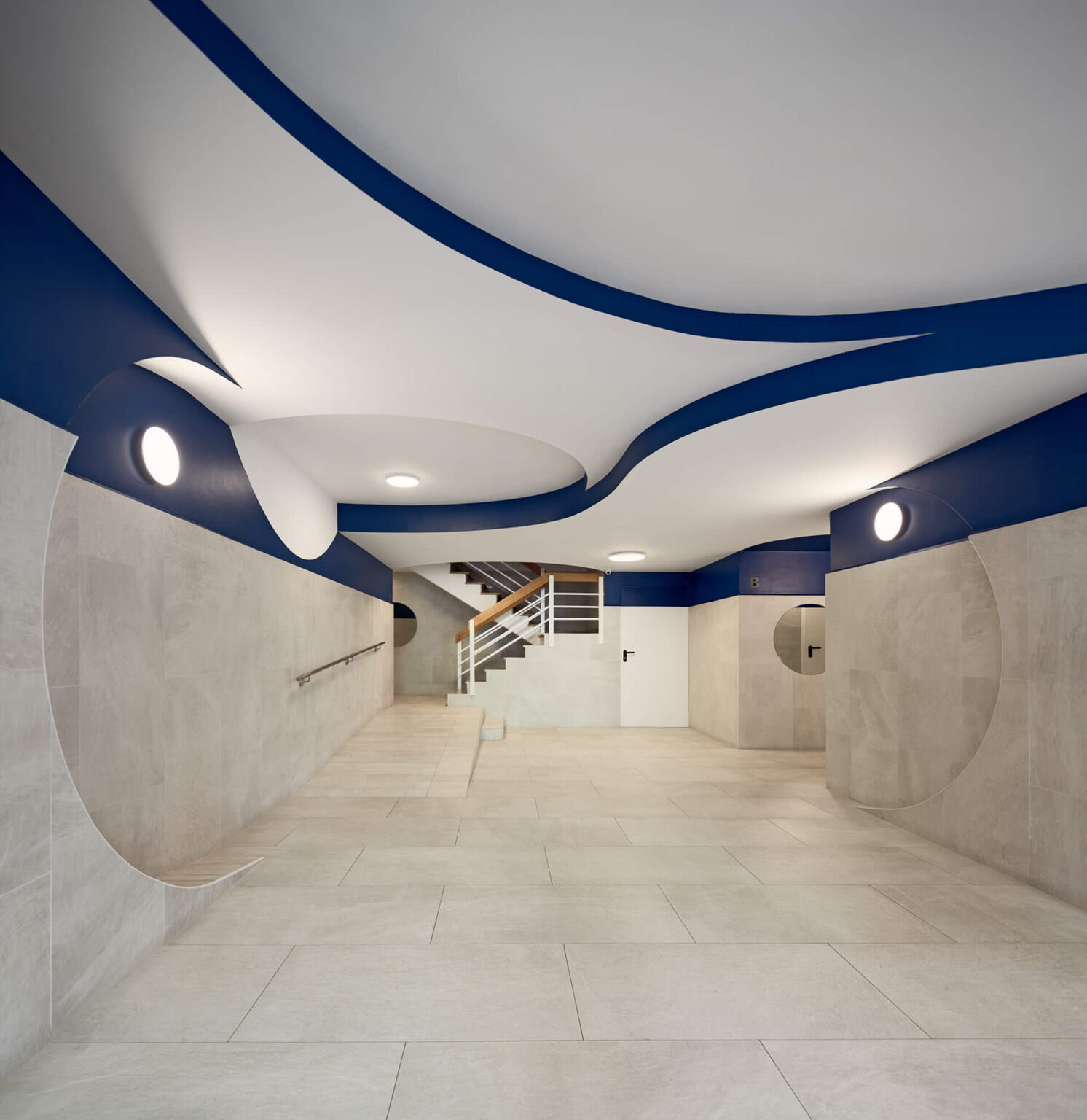 Miel Arquitects, Pintor Pahissa Lobby Interior Refurbishment, Photo Pol Viladoms | Yellowtrace