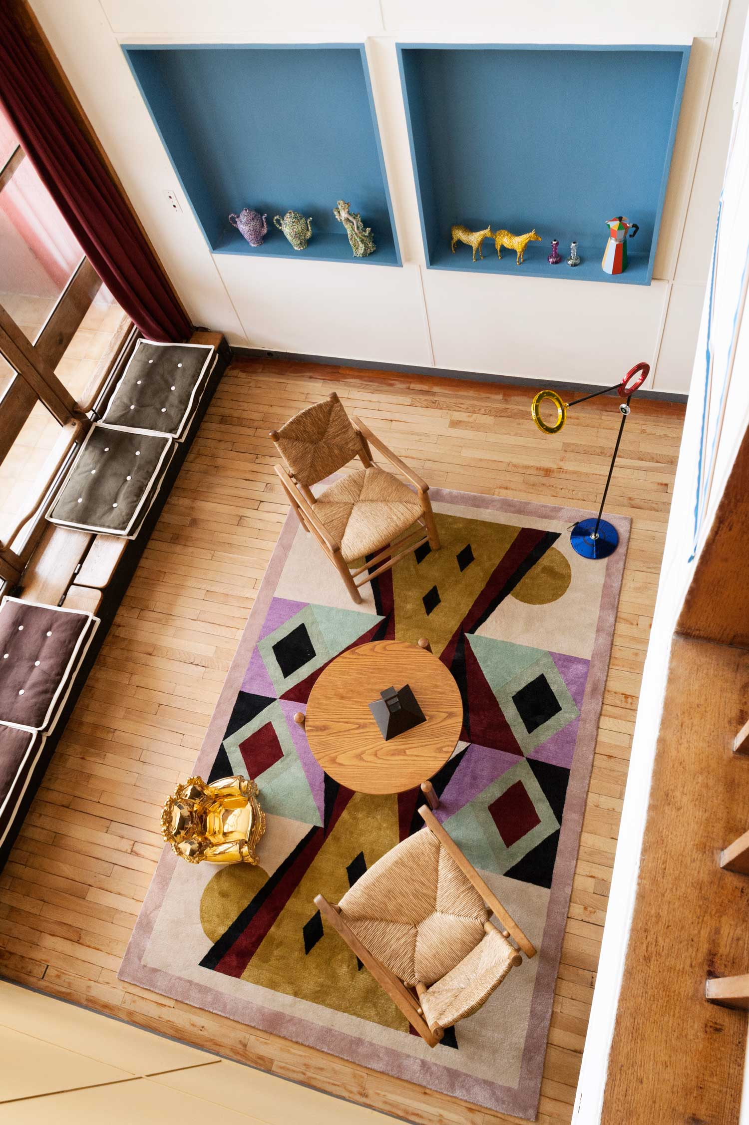 Alessandro mendini at le corbusier 39 s apartment n 50 marseille - Appartement le corbusier ...