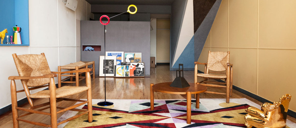Alessandro Mendini at Appartement N° 50, Le Corbusier Marseille | Yellowtrace