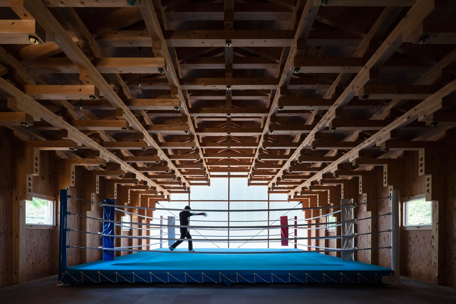 Archery Hall & Boxing Club by FT Architects | Yellowtrace