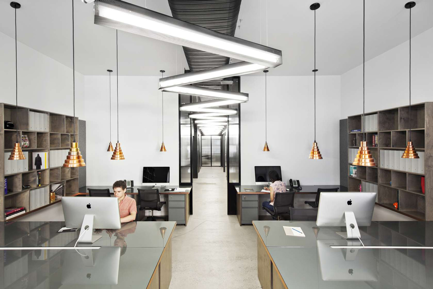 Nyc firehouse transformed into a hq by rafael de cardenas.
