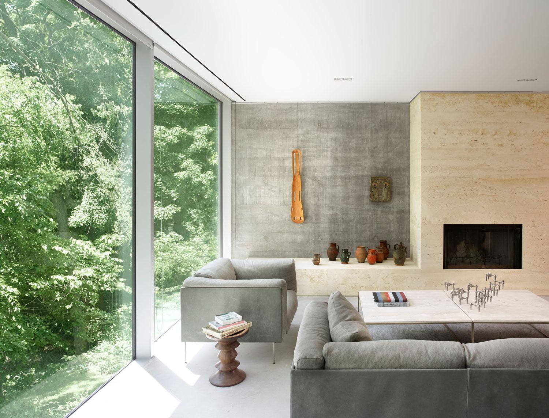 Concrete House by Toronto-based Architect Angela Tsementzis   Yellowtrace