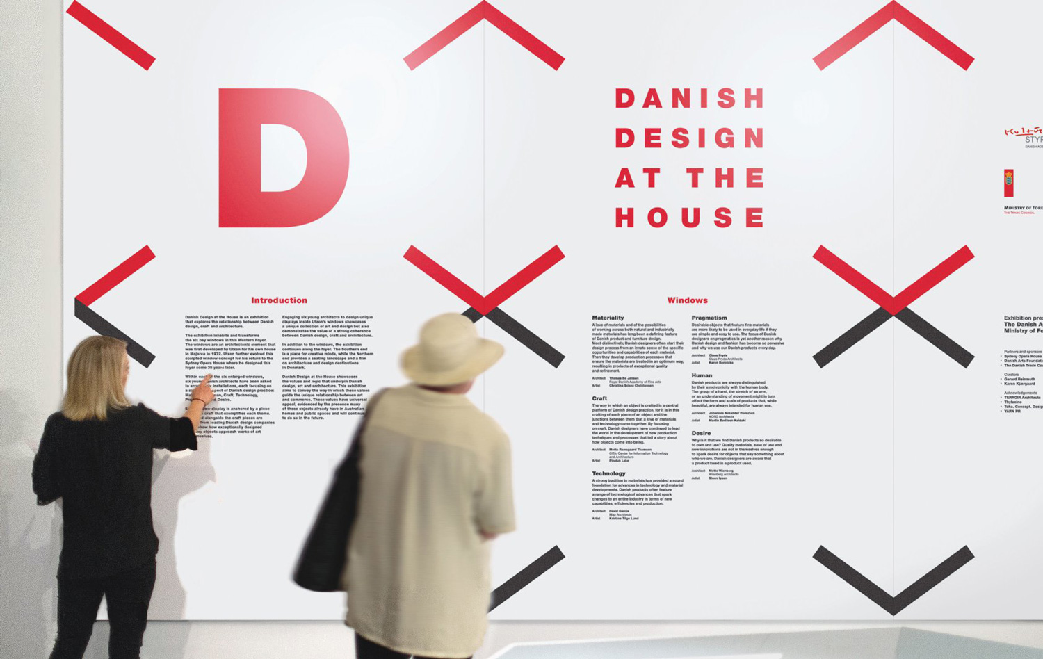 Danish Design Exhibition Branding, Deign by Toko | Yellowtrace
