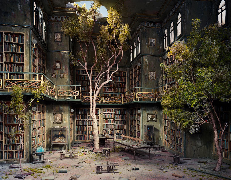 Extraordinary Miniature Apocalyptic Interior Sets by Nix + Gerber | Yellowtrace