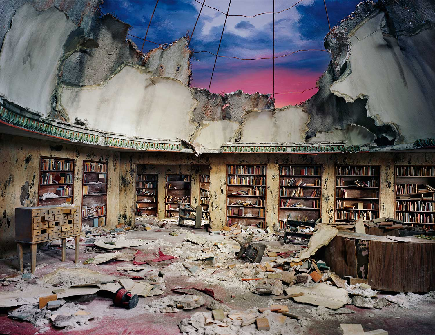 Extraordinary Miniature Apocalyptic Interior Sets by Nix + Gerber | Yellowtrace
