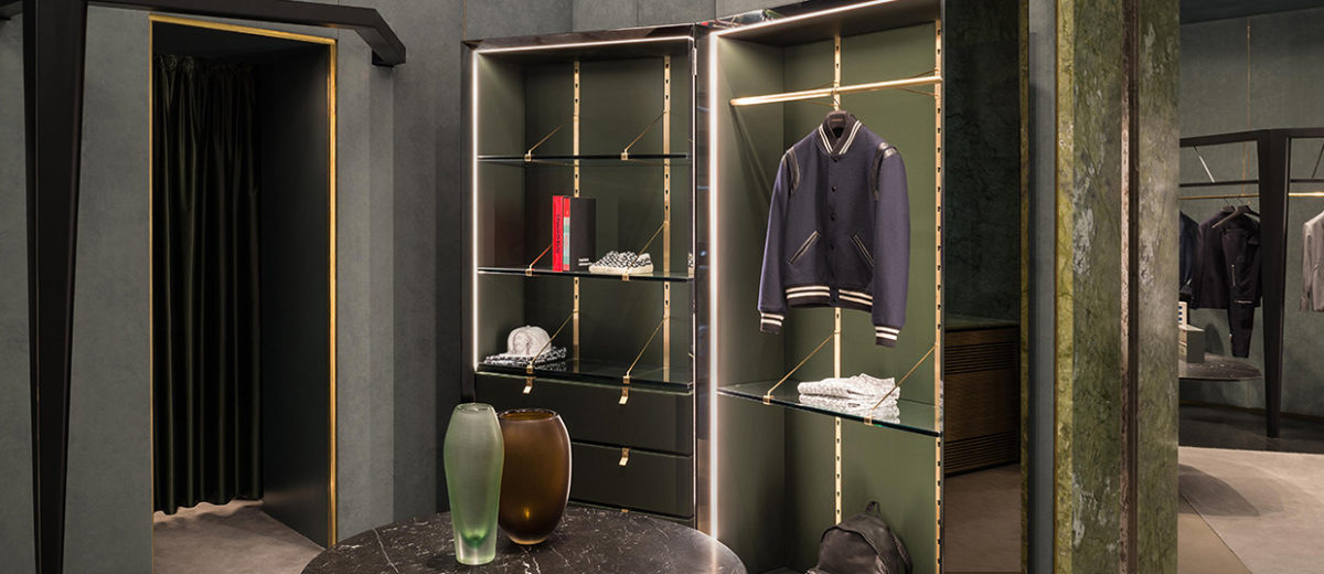 Luxury boutique lagrange12 in turin italy by dimore studio