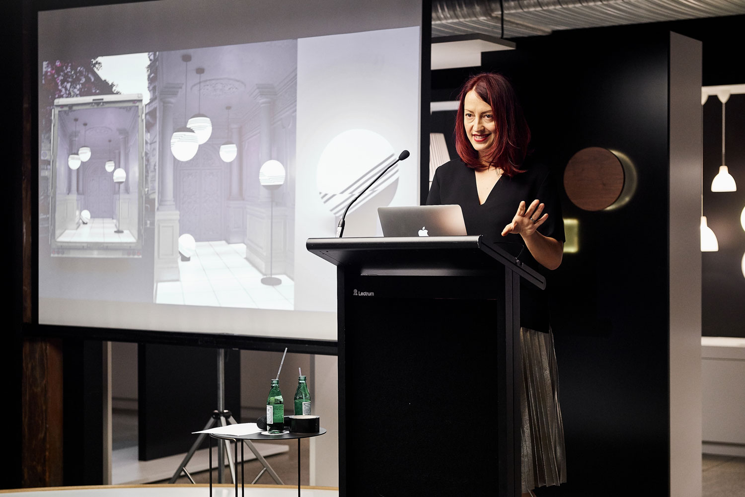#MILANTRACE2016 Talk Series, Sydney Launch Event, Dana Tomic Hughes - Photo © Fiona Susanto | Yellowtrace
