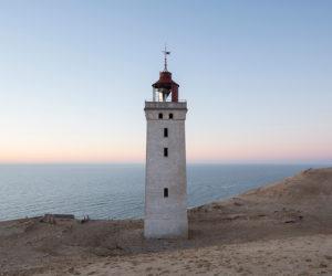 Dissapearing Lighthouse Renovation in Denmark by JAJA Architects + Bessards' Studio | Yellowtrace