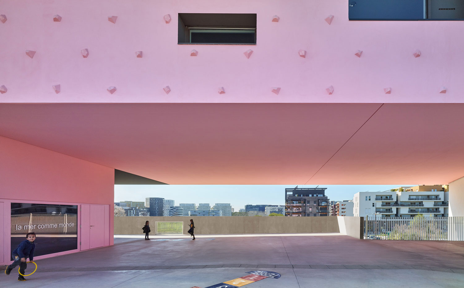 André Malraux Schools in Montpellier by Dominique Coulon & associés | Yellowtrace