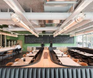Champeaux Restaurant in Paris by Ciguë | Yellowtrace