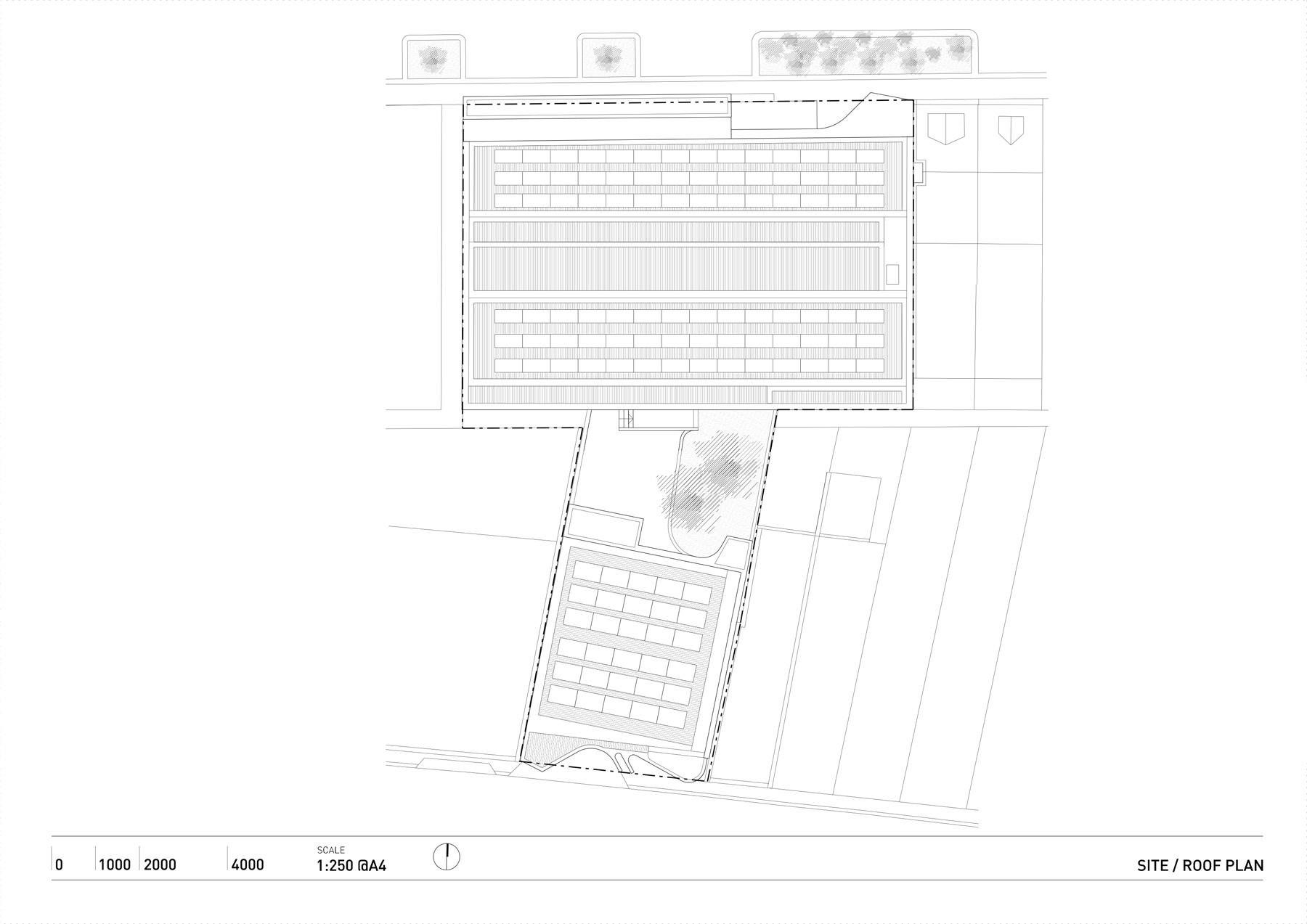 Indigo Slam Smart Design Studio, Site Plan | Yellowtrace