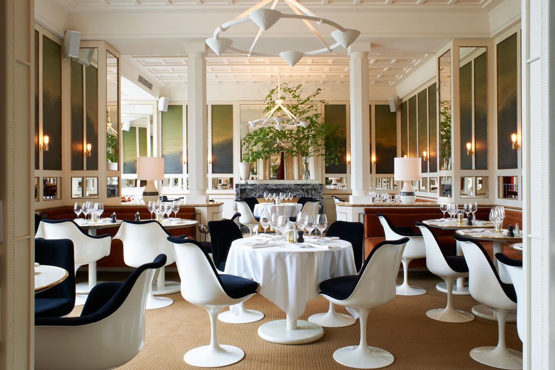 joseph dirand 39 s loulou restaurant at mus e des arts d coratifs