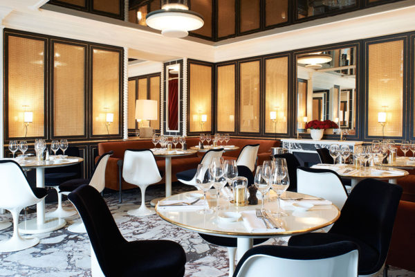 LOULOU Restaurant by Joseph Dirand at Musee des Arts Decoratifs Paris | Yellowtrace