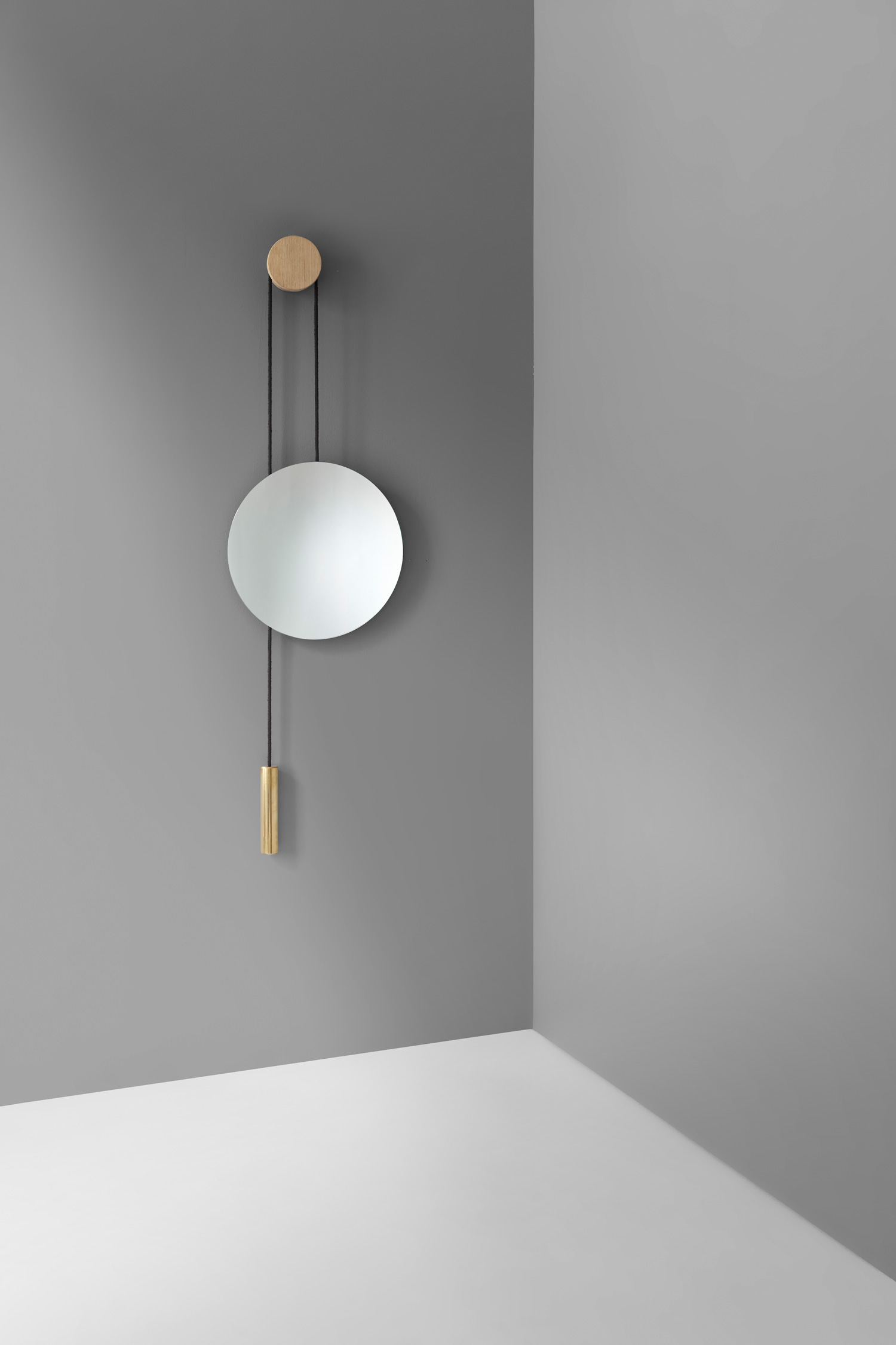 I love this wall mirror by London based Hunting & Narud for New Works.