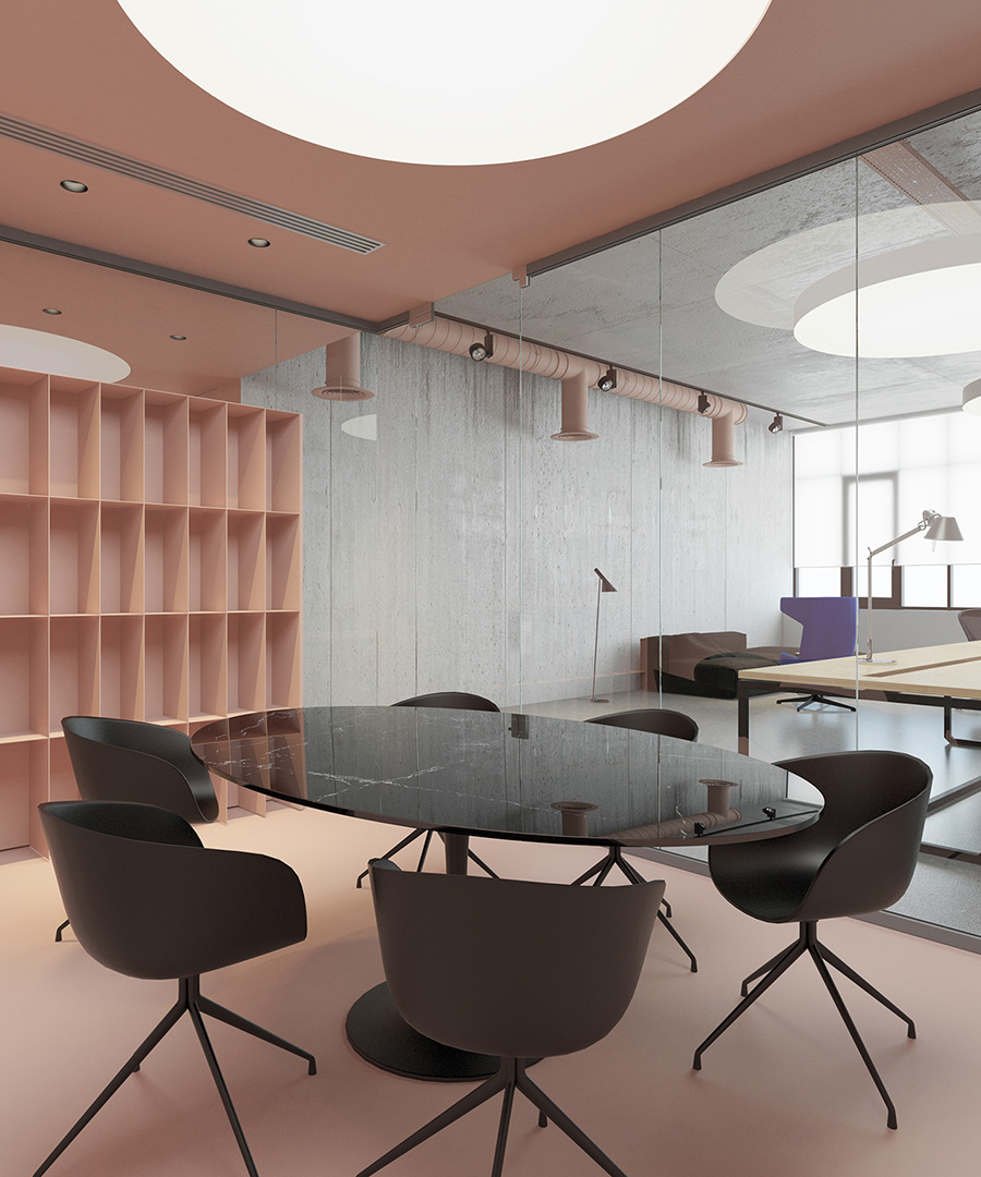 Office P by Kiev Ukraine | Yellowtrace