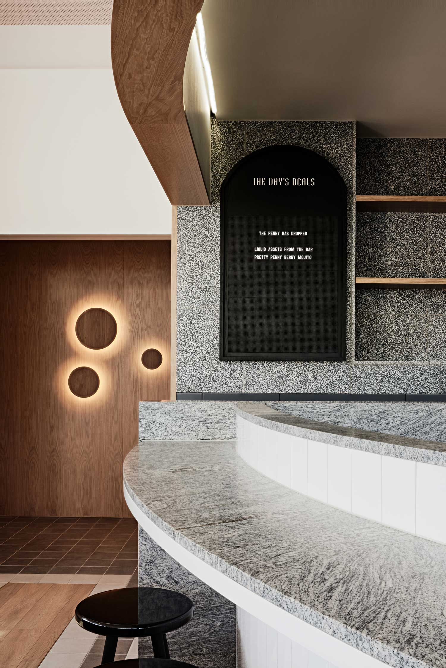 Penny Drop Café in Melbourne by We Are Huntly | Yellowtrace