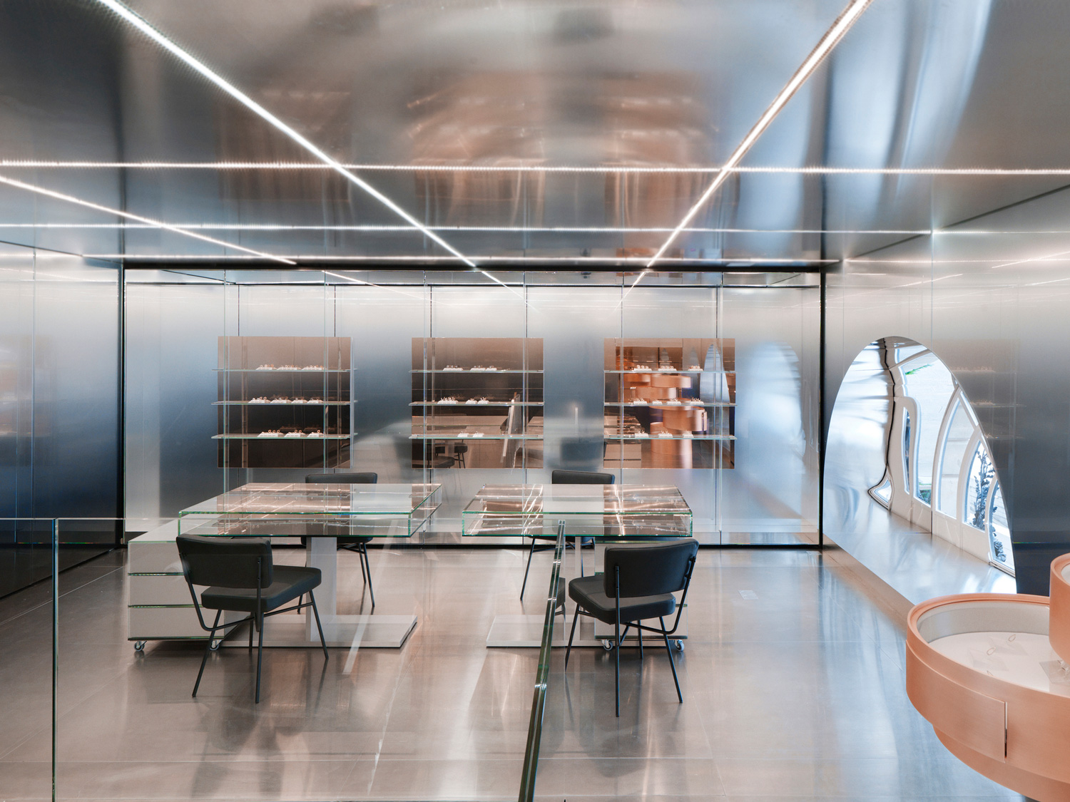 Repossi Boutique at Place Vendome Paris by OMA | Yellowtrace