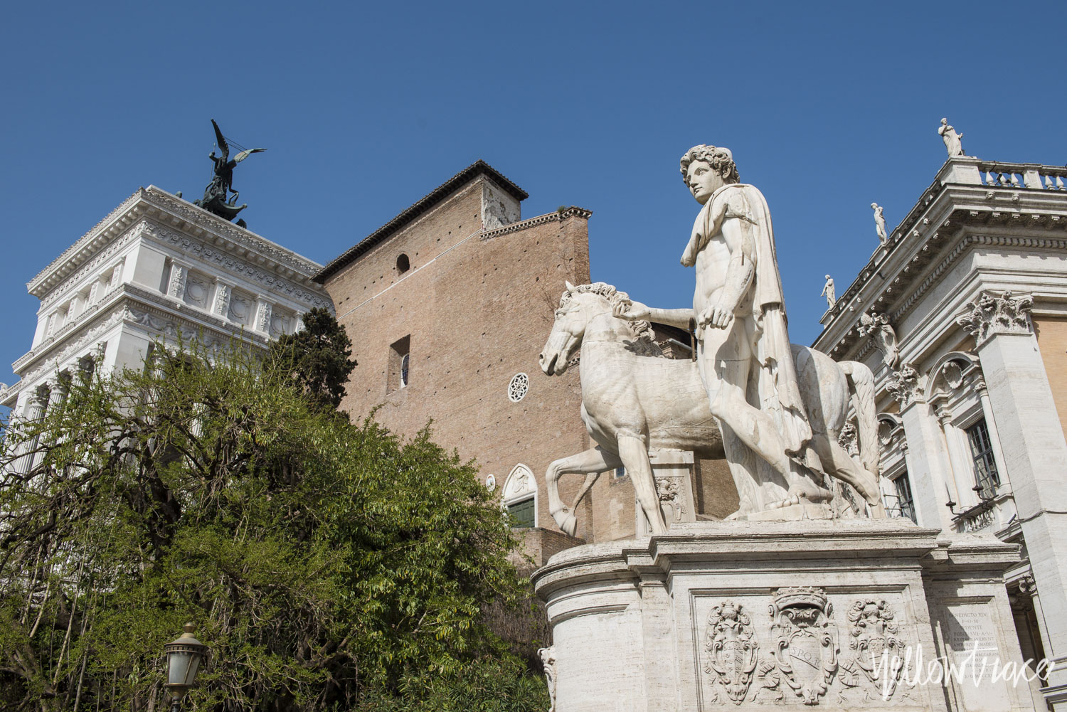 Piazza del Campidoglio (Capitoline Hill Rome), Photo © Nick Hughes | Yellowtrace