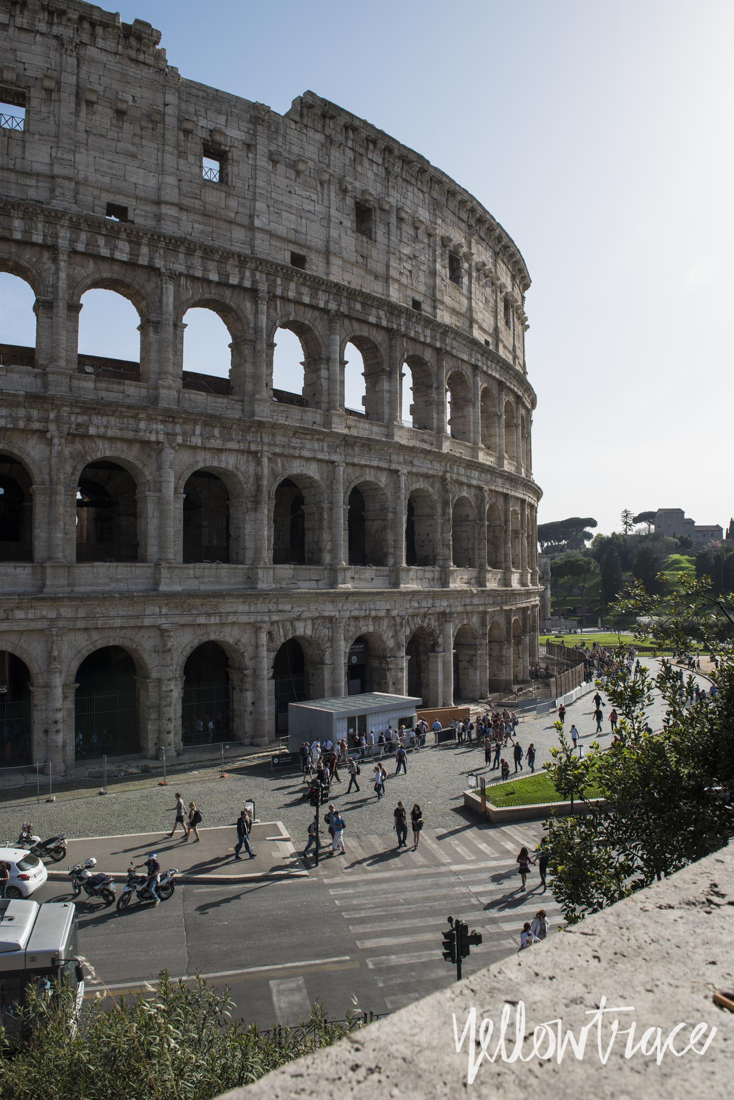 Colosseum Rome, Photo © Nick Hughes | Yellowtrace