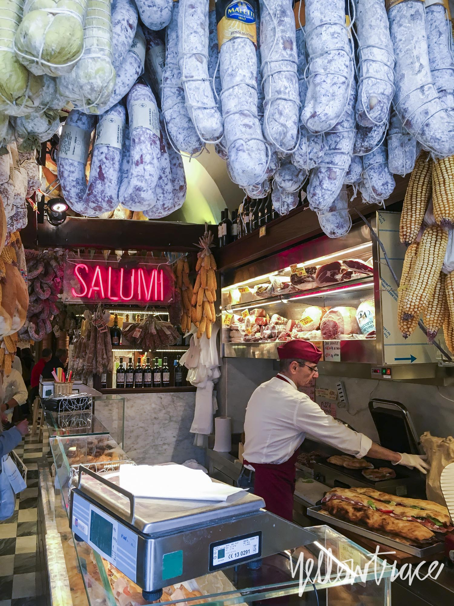 L'Antica Salumeria, Rome, Photo © Dana Tomic Hughes | Yellowtrace