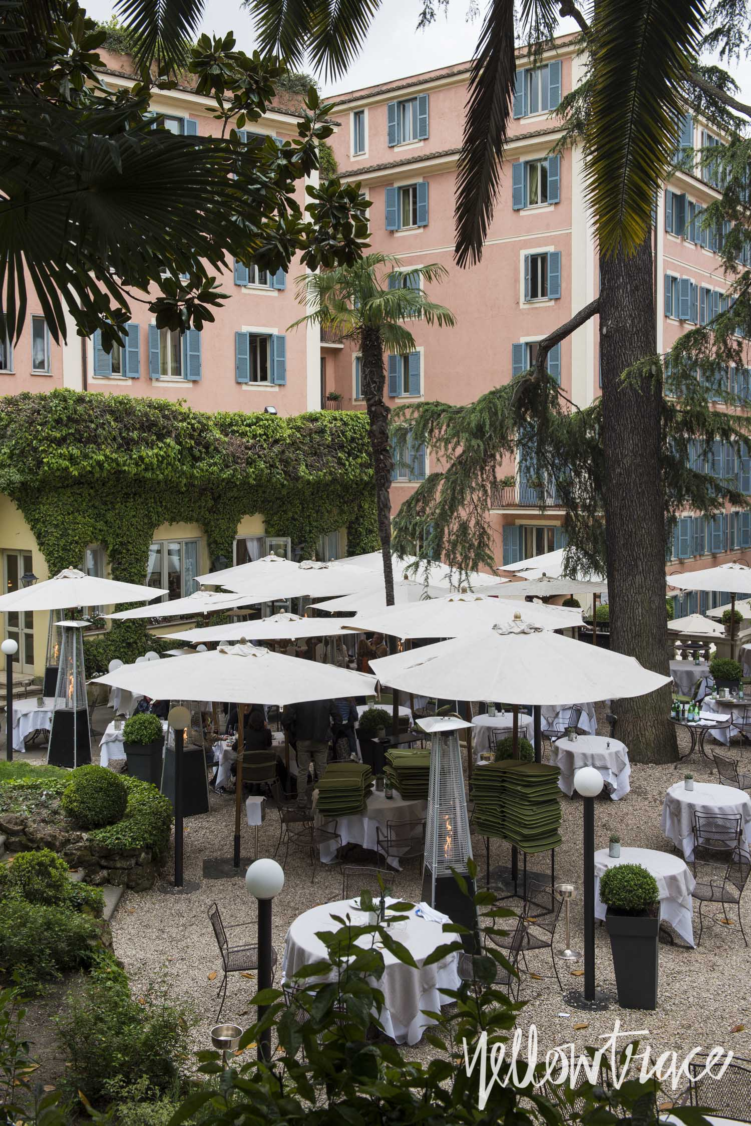 Hotel de Russie Rome, Photo © Nick Hughes | Yellowtrace