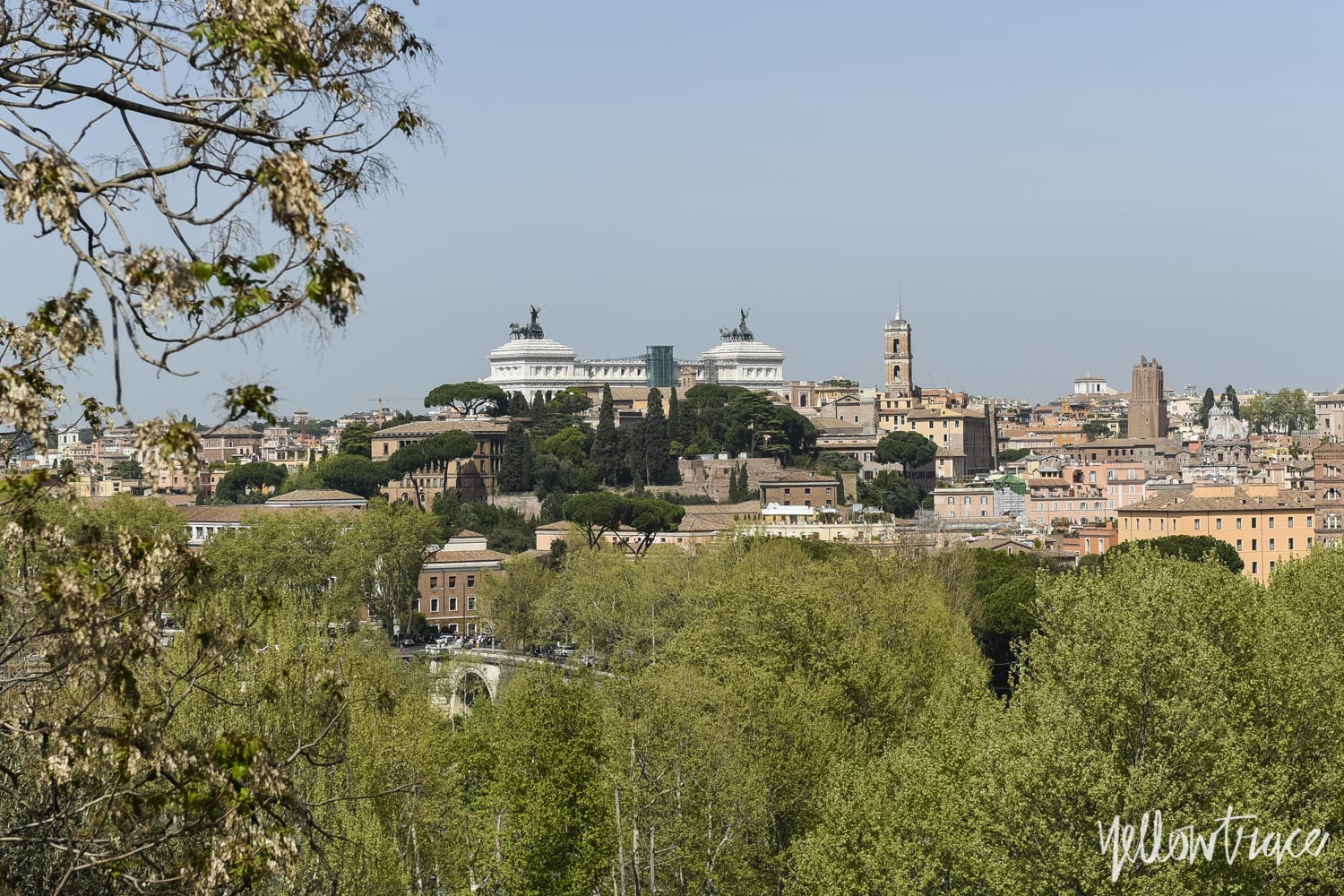 Rome Rooftops from Aventine Hill, Photo © Nick Hughes | Yellowtrace