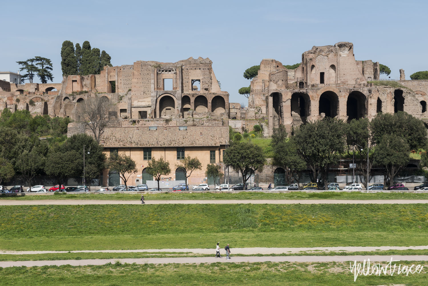 Circo Massimo (Circus Maximus) Rome, Photo © Nick Hughes | Yellowtrace