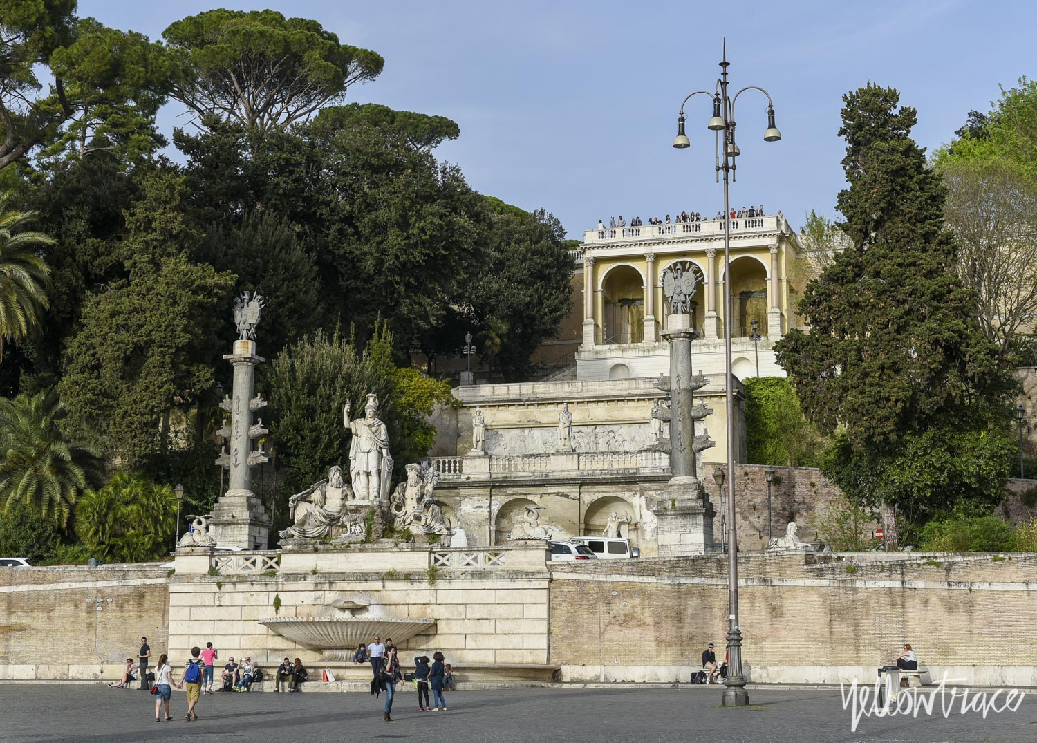 Piazza del Popolo Rome, Photo © Nick Hughes | Yellowtrace