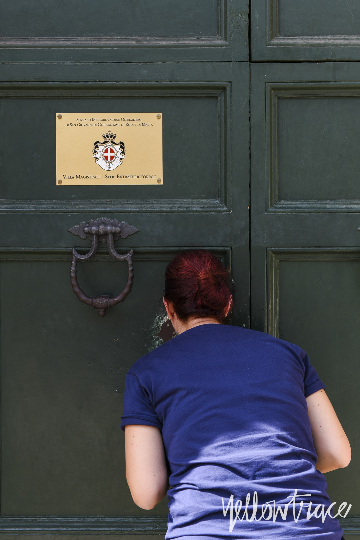The Aventine Keyhole Rome, Photo © Nick Hughes | Yellowtrace