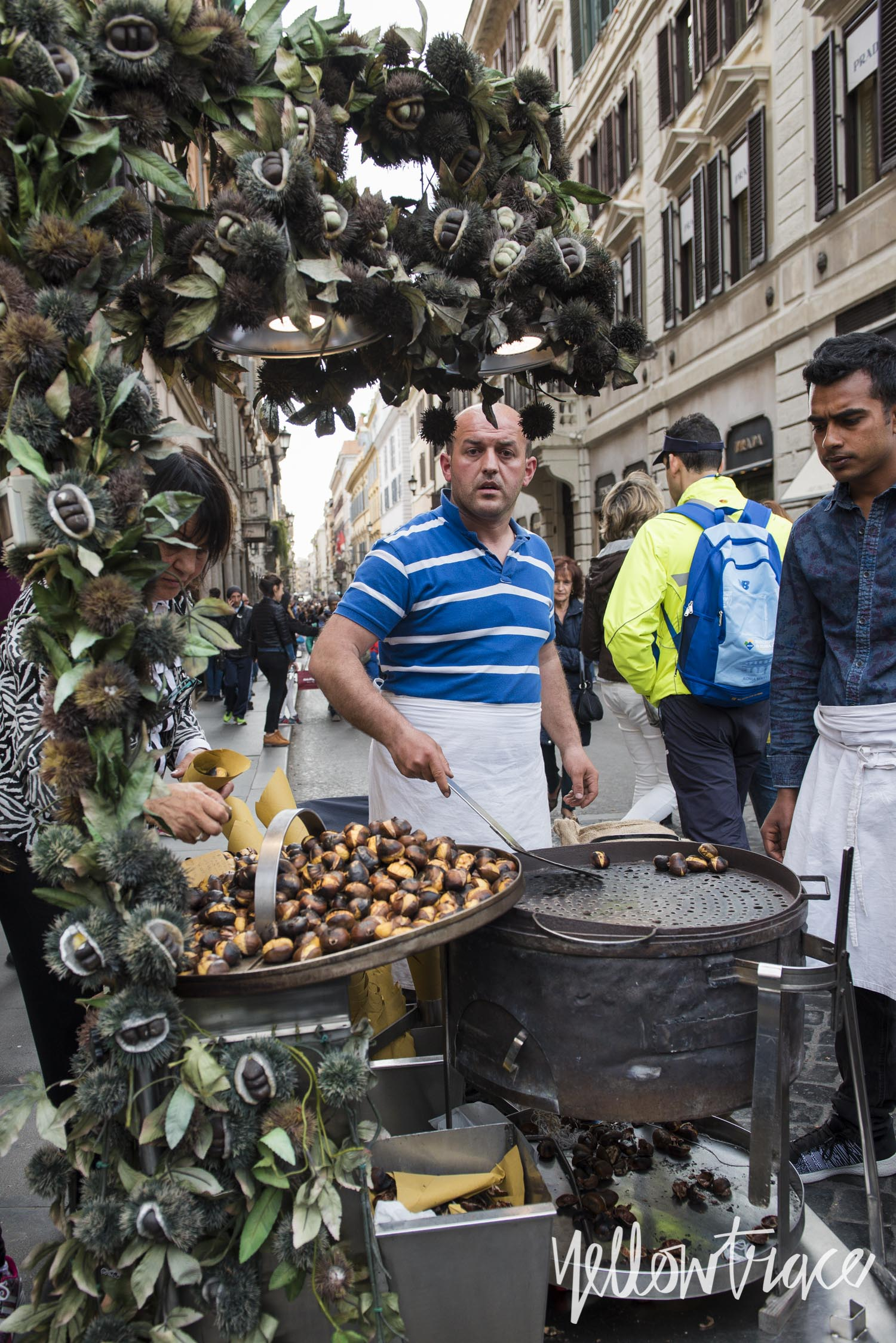 Chestnut Street Stalls Rome, Photo © Nick Hughes | Yellowtrace