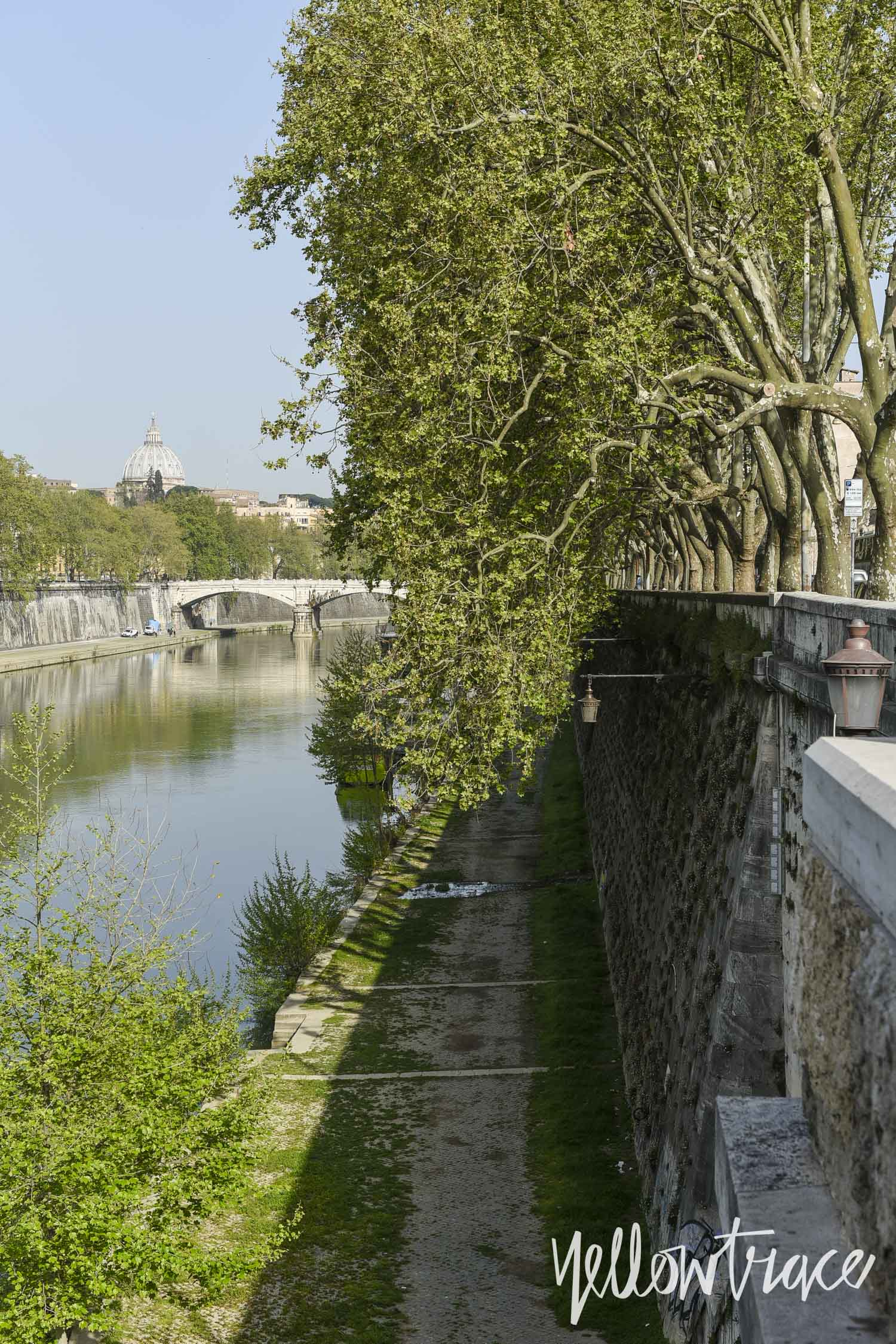 Banks of Tiber Rome, Photo © Nick Hughes | Yellowtrace