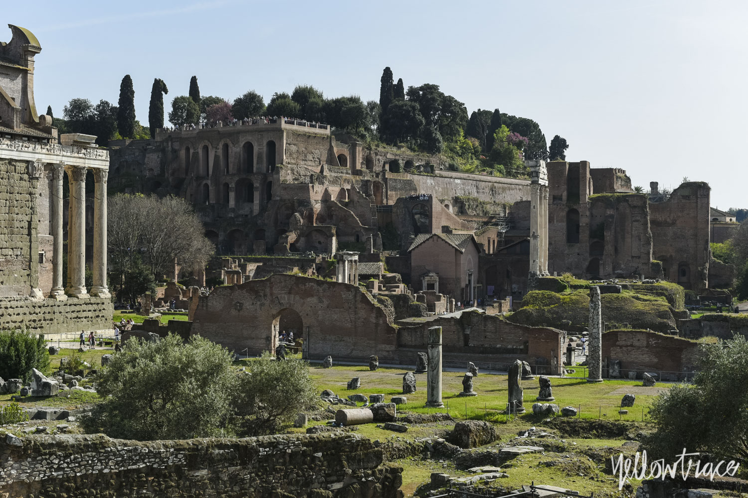 Roman Forum (Foro Romano), Photo © Nick Hughes | Yellowtrace