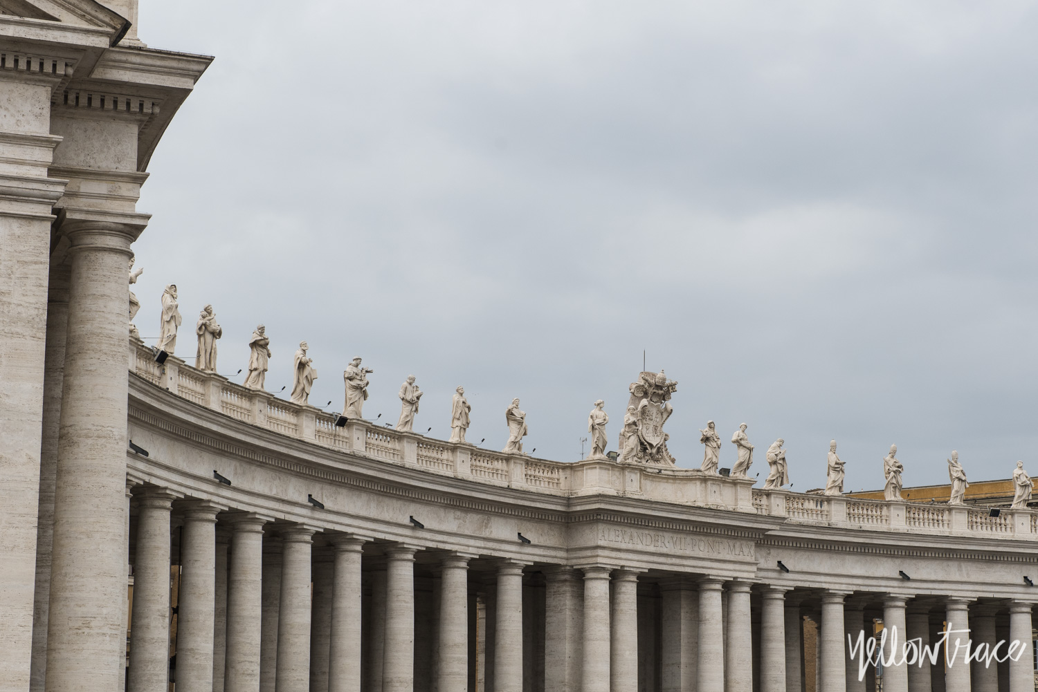 St. Peter's Square, Vatican City, Photo © Nick Hughes | Yellowtrace