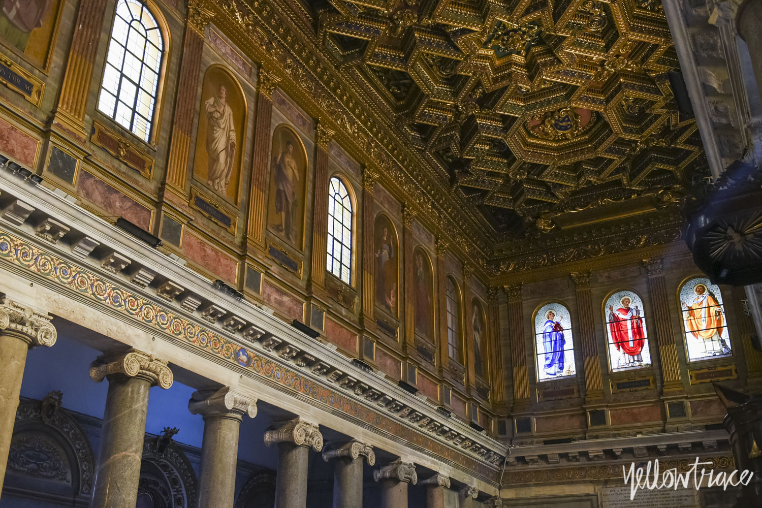 Santa Maria Trastevere Rome, Photo © Nick Hughes | Yellowtrace