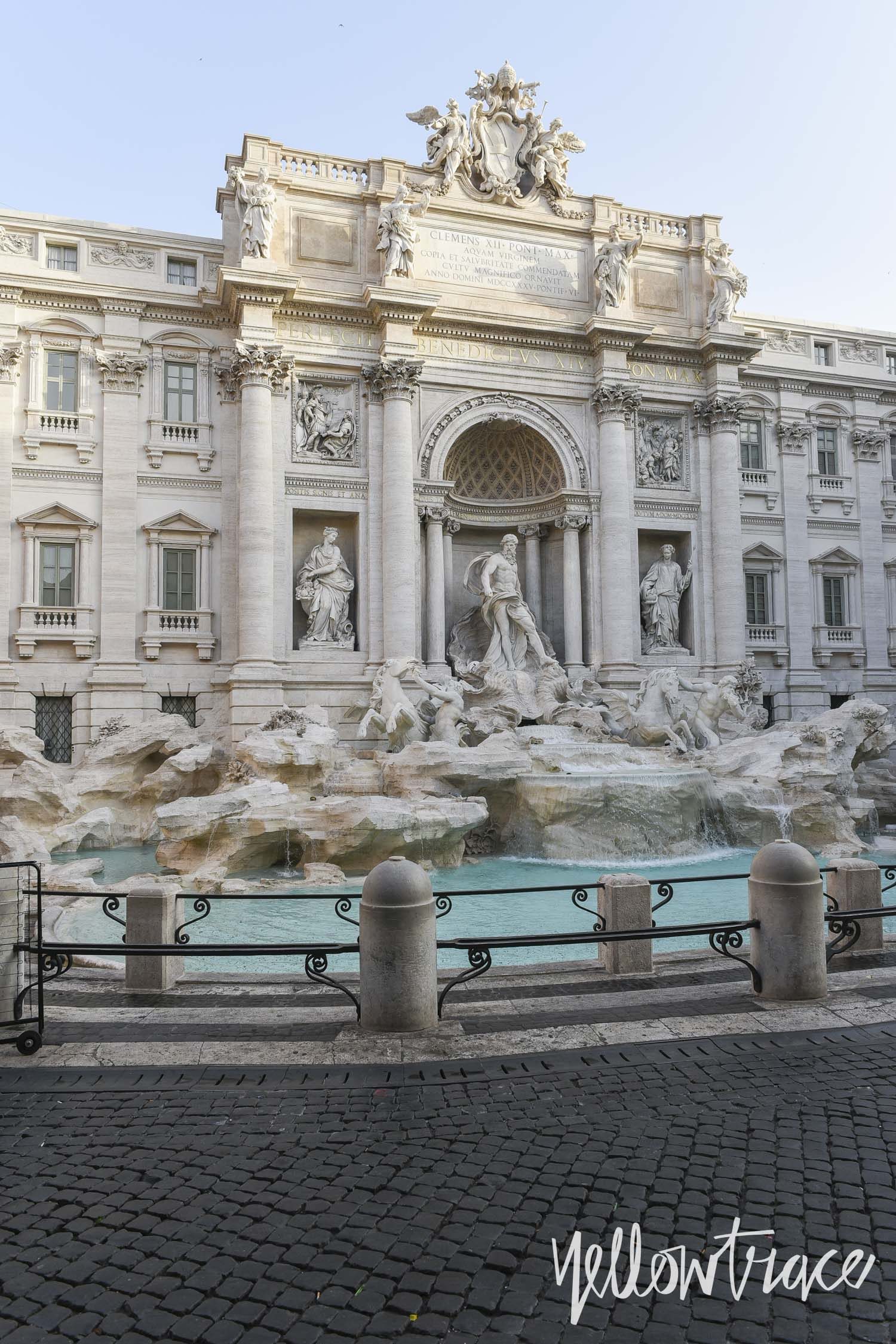 Trevi Fountain Rome, Photo © Nick Hughes | Yellowtrace