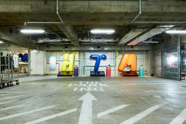 The PARK-ING Ginza Concept Store Set Inside a Tokyo Carpark   Yellowtrace