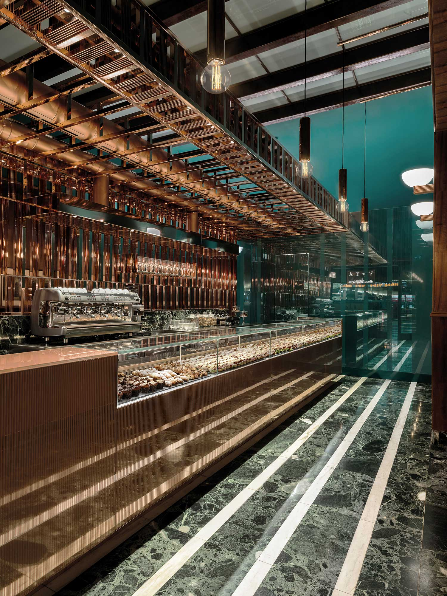 Vyta Espresso Bar at Florence Santa Maria Novella by Daniela Colli | Yellowtrace